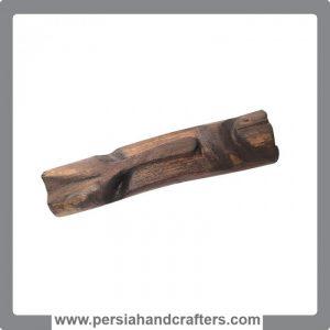 گردنبند چوبی - طرح سرخ پوست